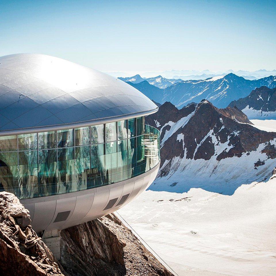Der Pitztaler Gletscher im Sommer