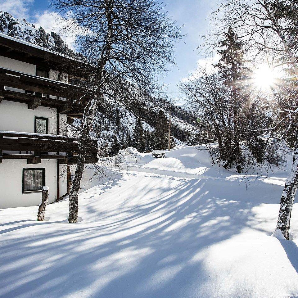 Die Natur Residenz Anger Alm im Winter