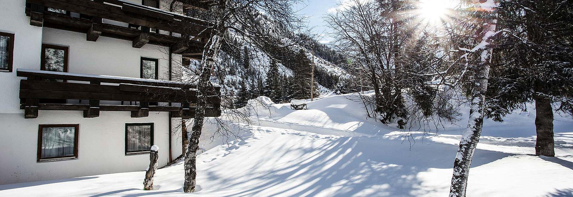 Natur Residenz im Winter