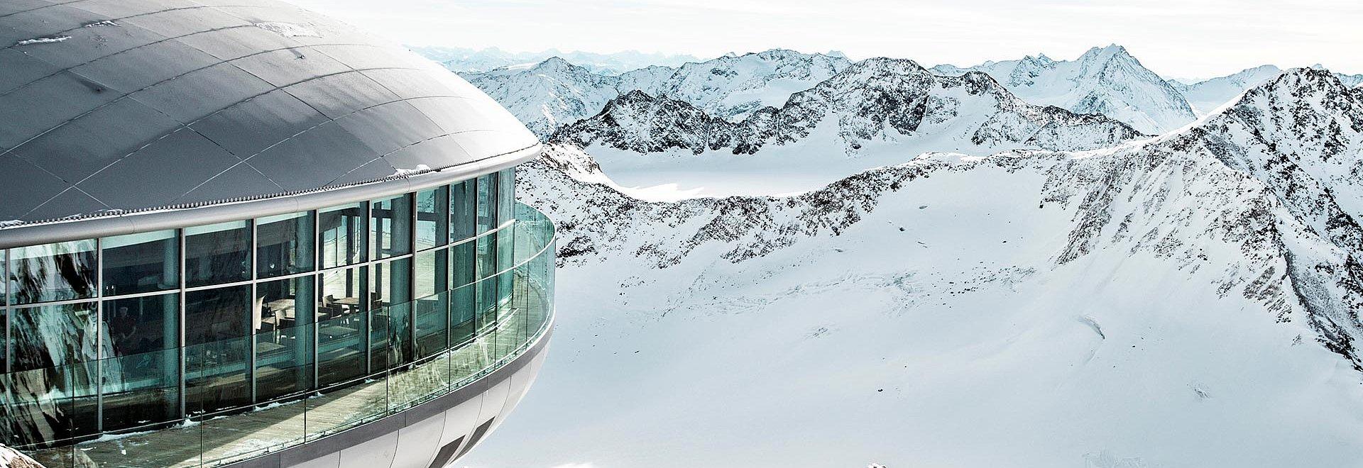 Pitztaler Gletscher im Winter