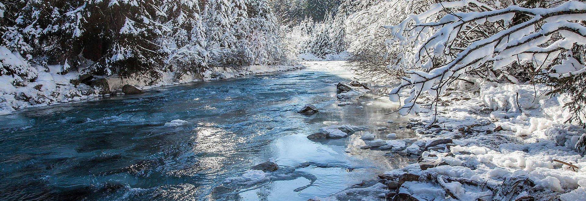 Winterlandschaft in St. Leonhard