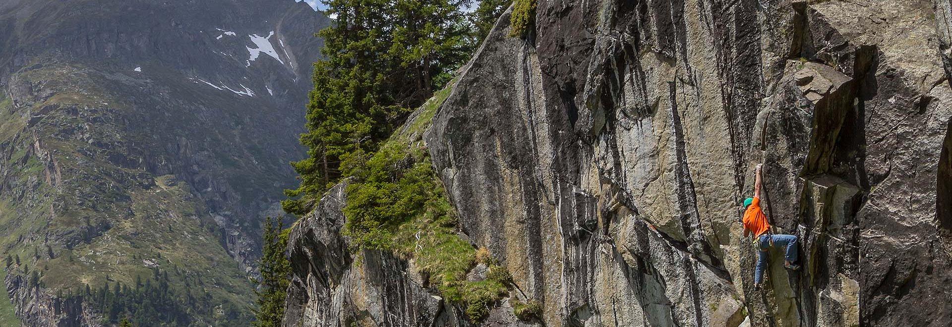 Klettern in St. Leonhard