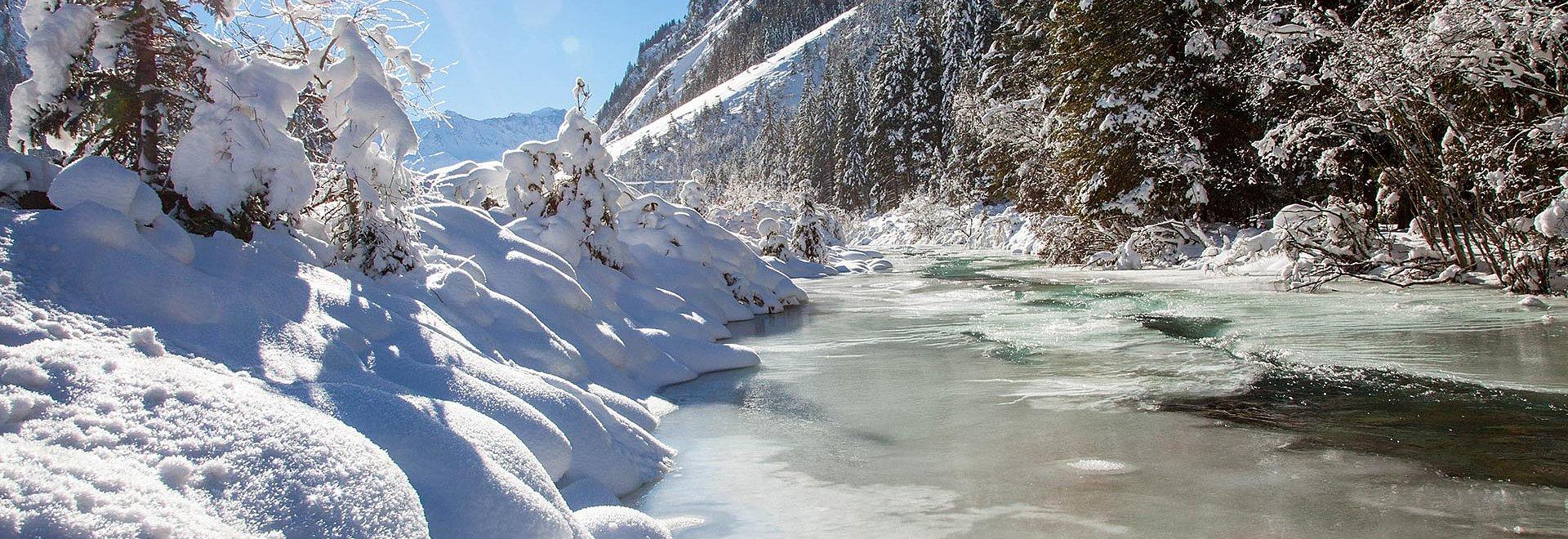 Winterlandschaft St. Leonhard